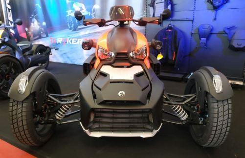 En la foto un triciclo deportivo de la marca Can-Am