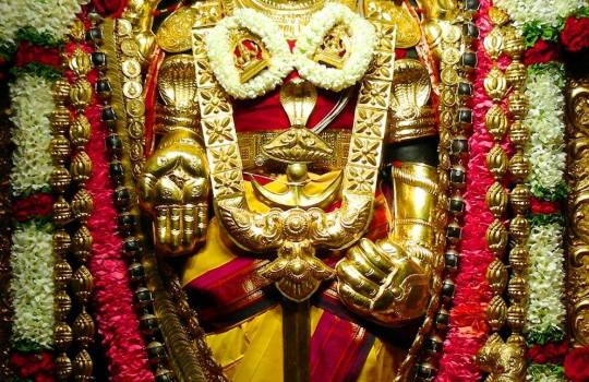 The Mystic Hand Mudras Of Lord Sri Venkateswara