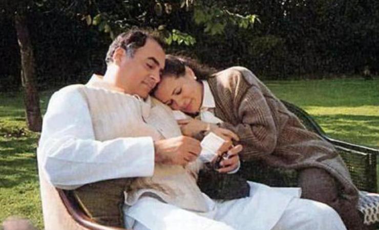 Happy Times Rajiv And Sonia Gandhi