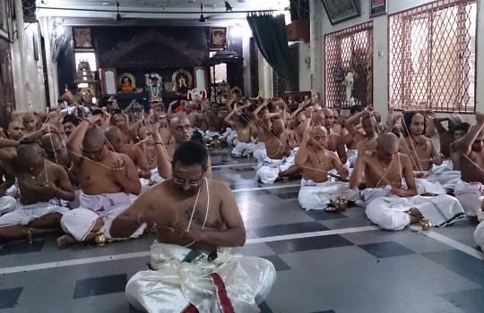 Brahmins Performing Sandhyavandanam