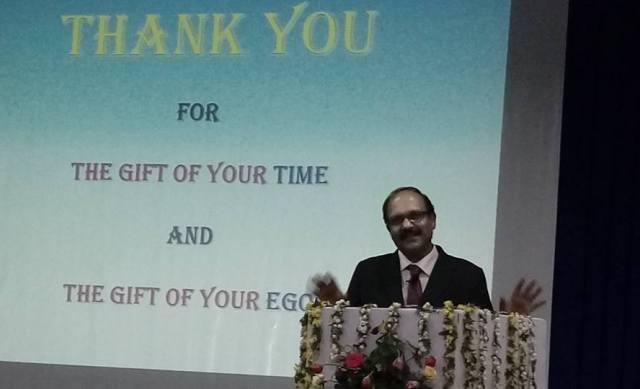 Sriram Sir During A Workshop