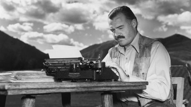 Legendary American Author, Ernest Hemmingway
