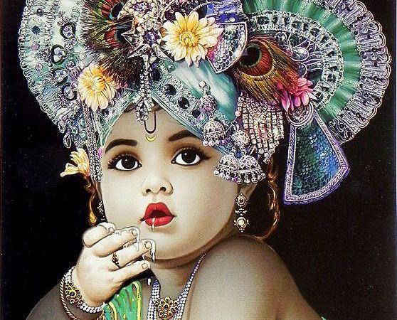 Lord Krishna As Child