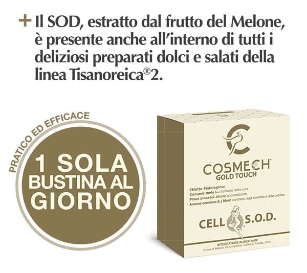 CELL S.O.D. fantastico Anticellulite di Gianluca Mech