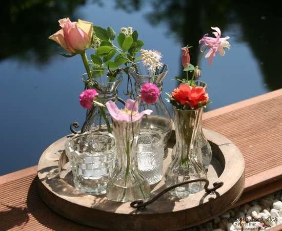 kleine Glasvasen von Ib Laursen