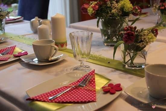Tischdeko Konfirmation Tischdekoration Kommunion