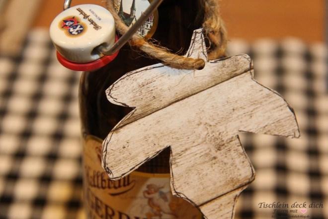 Bierverkostung Bierflasche
