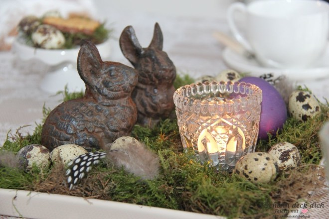 Ostern Hasennest