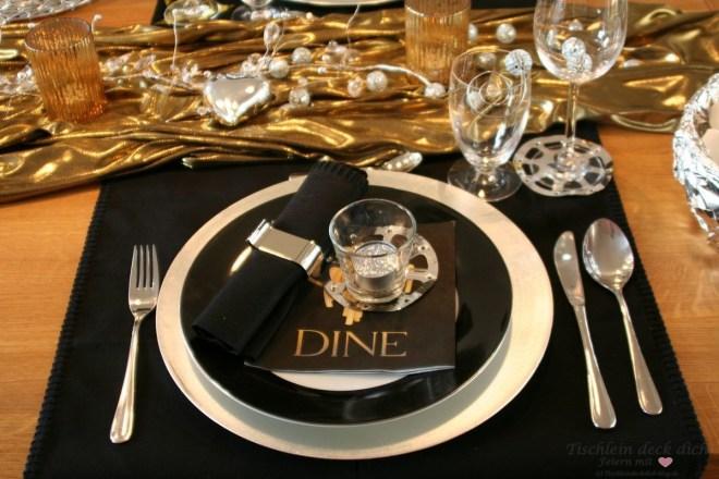 Landestypische Tischdekoration Tischdeko USA