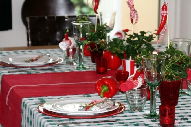 Tischdeko Ungarn