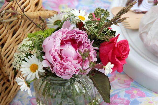Picknick Blumen