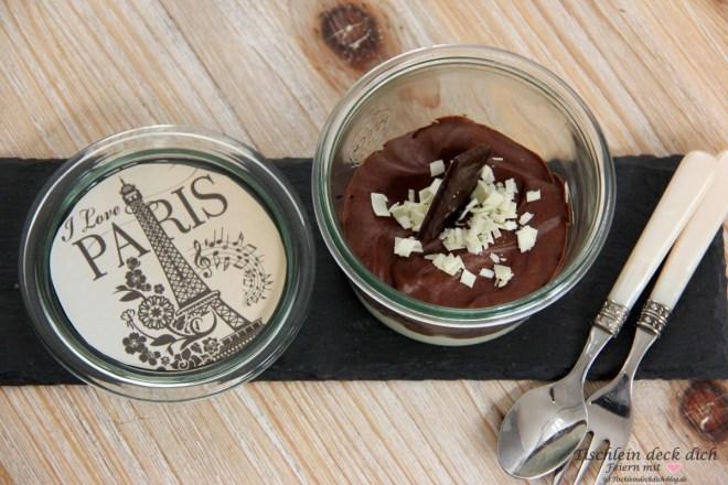 Paris Dessert im Glas