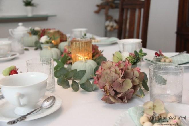 Tischdekoideen für den Herbst