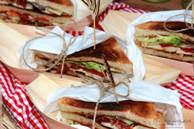 bree-minis-picknick, leckere Sandwiches