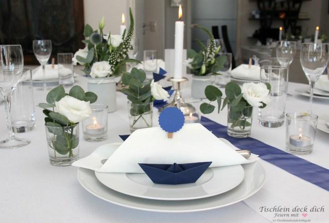 Kommunionsfeier - Ideen für die Tischdeko