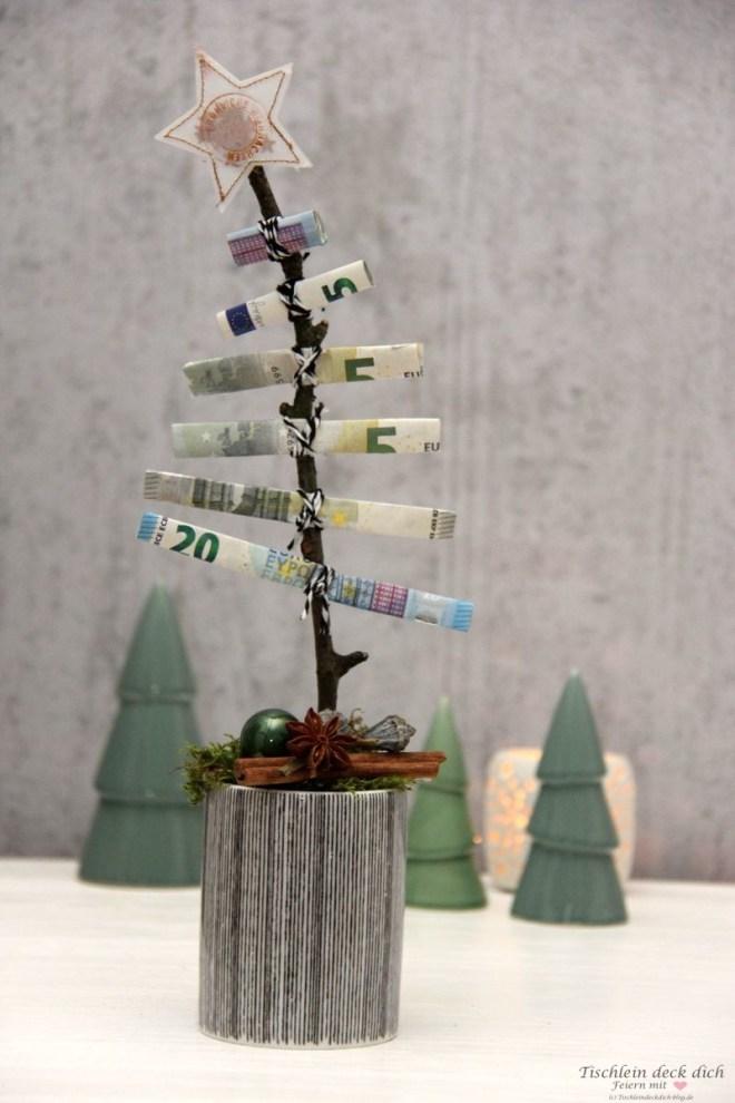 Tannenbaum-Geldgeschenk