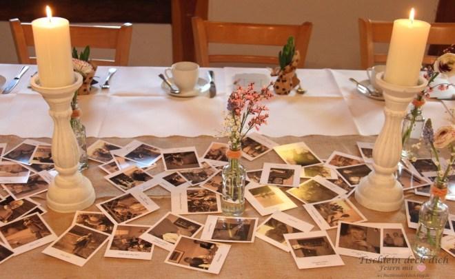 Tischdekoration zum 80. Geburtstag - perfekt mit
