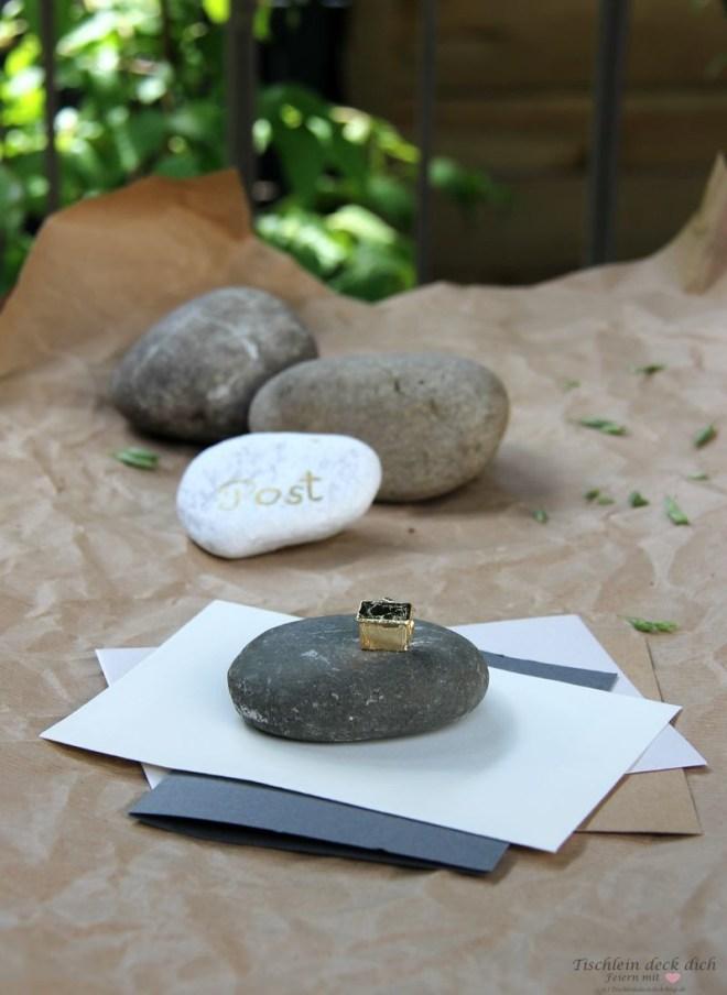Basteln mit Kieselsteinen