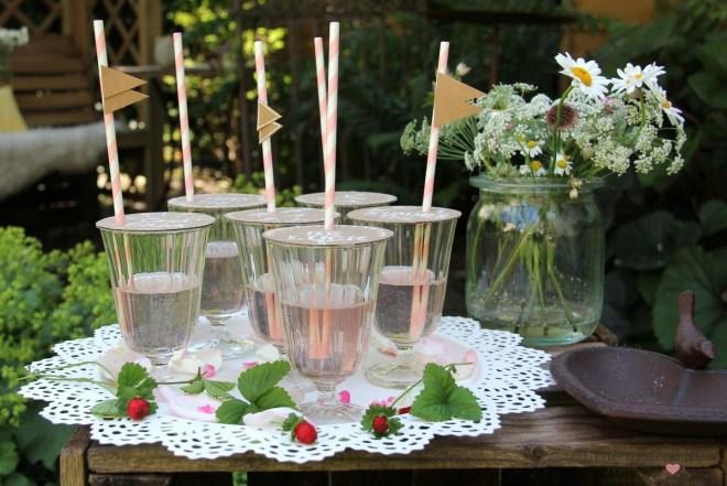 Insektenschutz für Gläser kreativ gestaltet