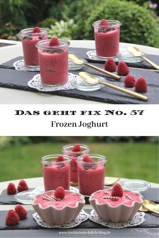 frozen Joghurt selbstgemacht
