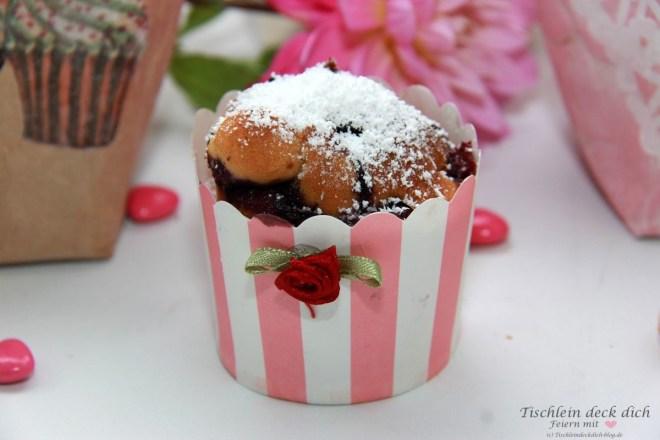 Muffins im Vintage Look