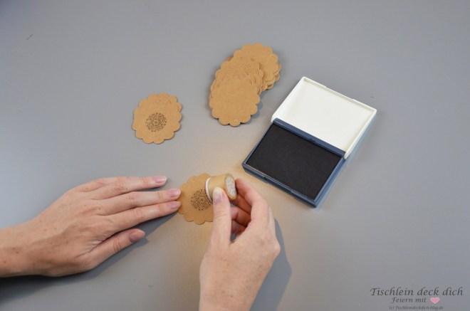 Stempel Kraftpapier