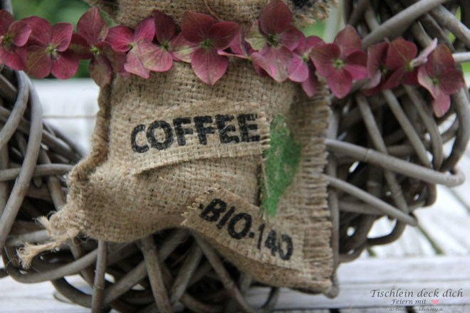 Kaffeesack DIY
