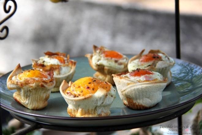 Toastbrot-Ei-Muffins