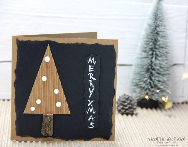 Weihnachstpost basteln