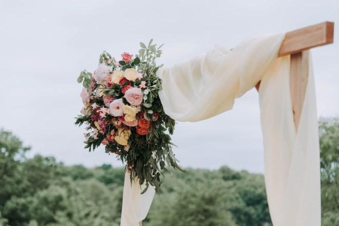 Garten dekorieren für die Hochzeit
