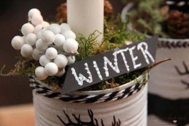 Winterdeko basteln