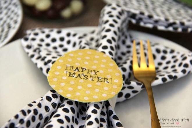 Kleine Oster-DIY für die Tischdeko