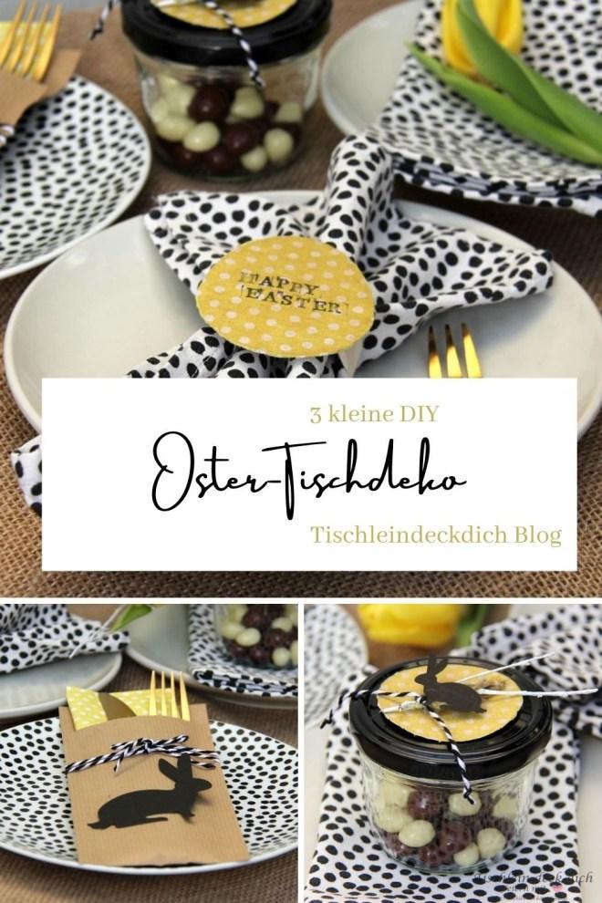 Pinterest Pin für die Oster-DIY für die Tischdeko