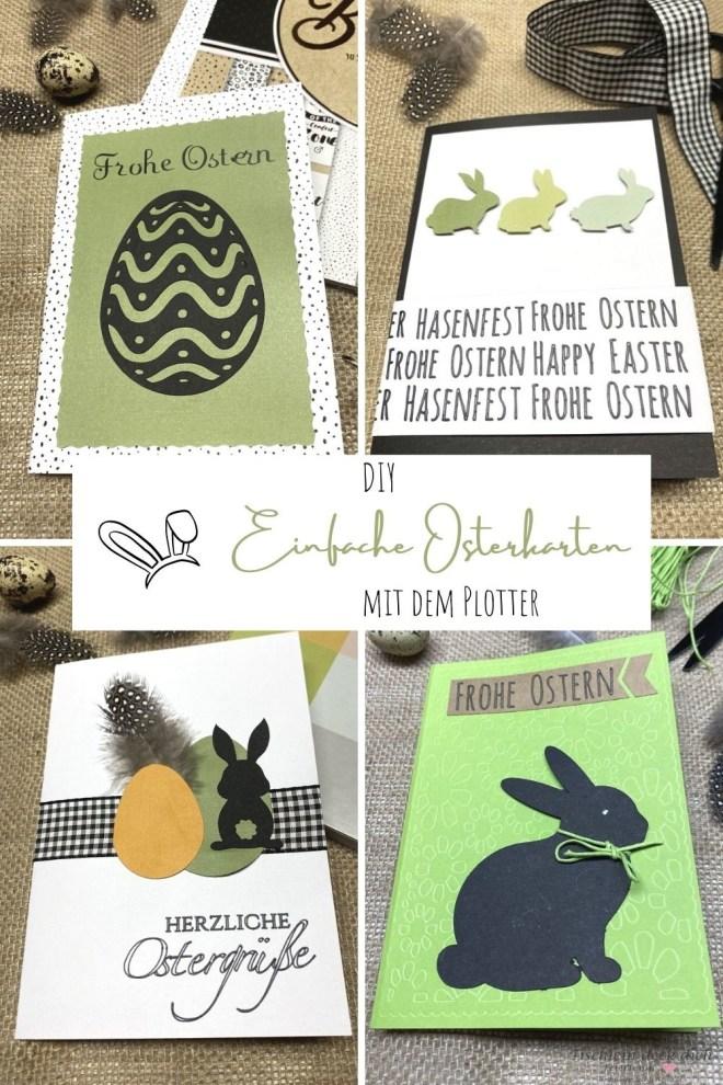 Pinterest Pin einfache Osterkarten gestalten