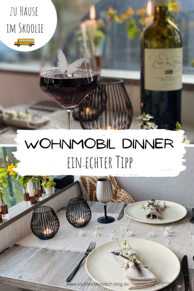 Wohnmobil Dinner im Skoolie Pinterest
