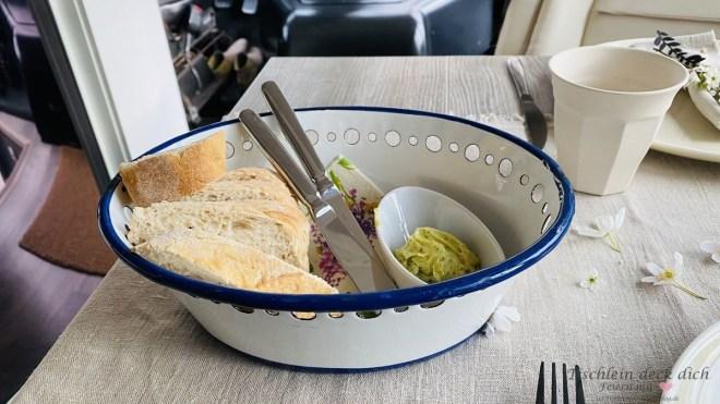 Gruß aus der Küche beim Wohnmobil Dinner