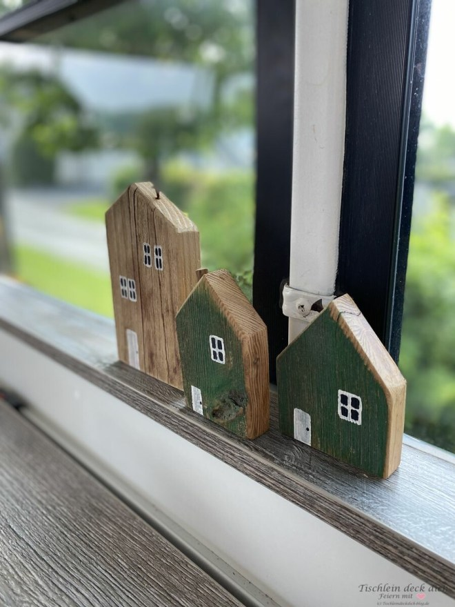 Holzhäuser Deko