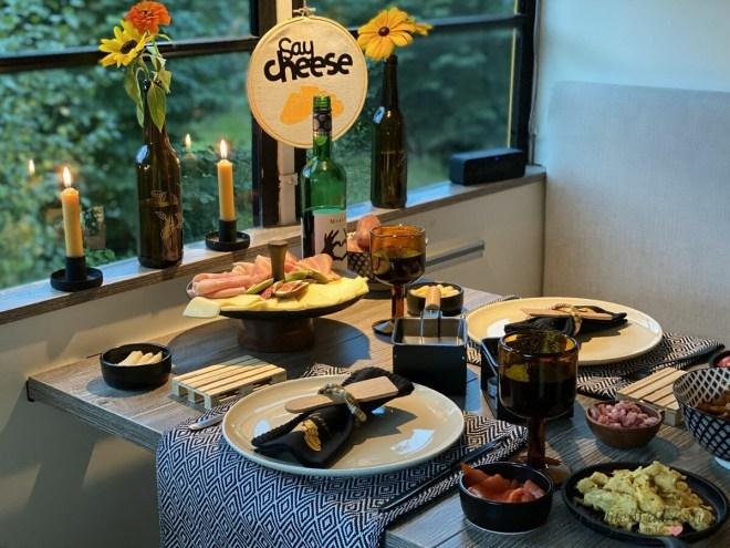 Raclette Abend im Wohnmobil