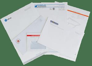 tisk kuvert, tisk dopisov