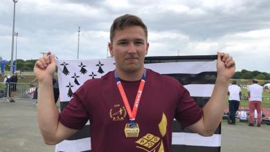 Tom Reux champion de France lancer de disque