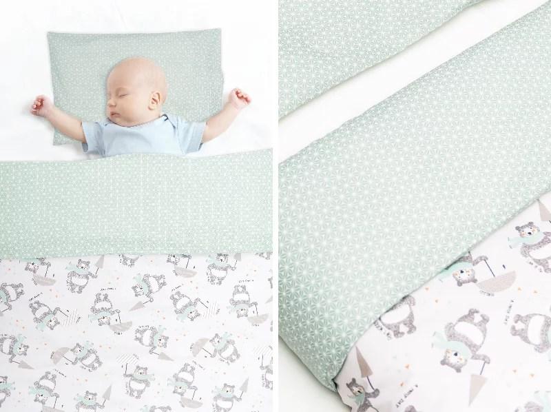 tuto parure de lit bebe milan