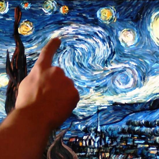La Notte Stellata Di Van Gogh Diventa Un Capolavoro Digitale