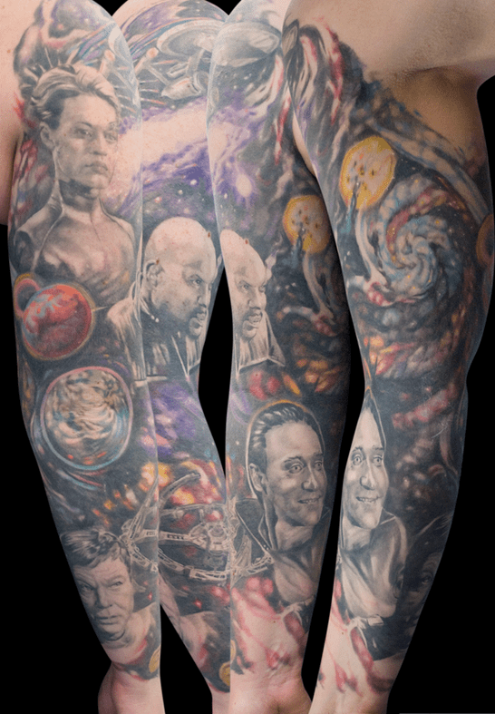 star trek tattoo