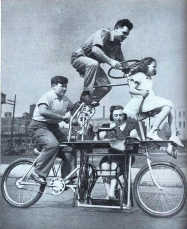 Bicicletta per Famiglie