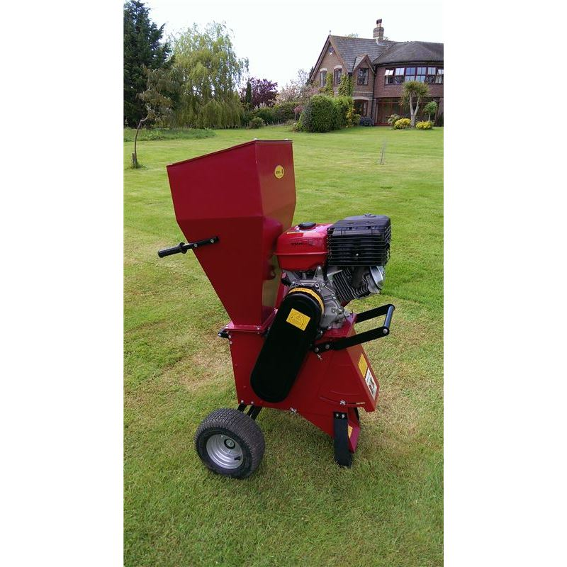 Used Petrol Garden Shredder