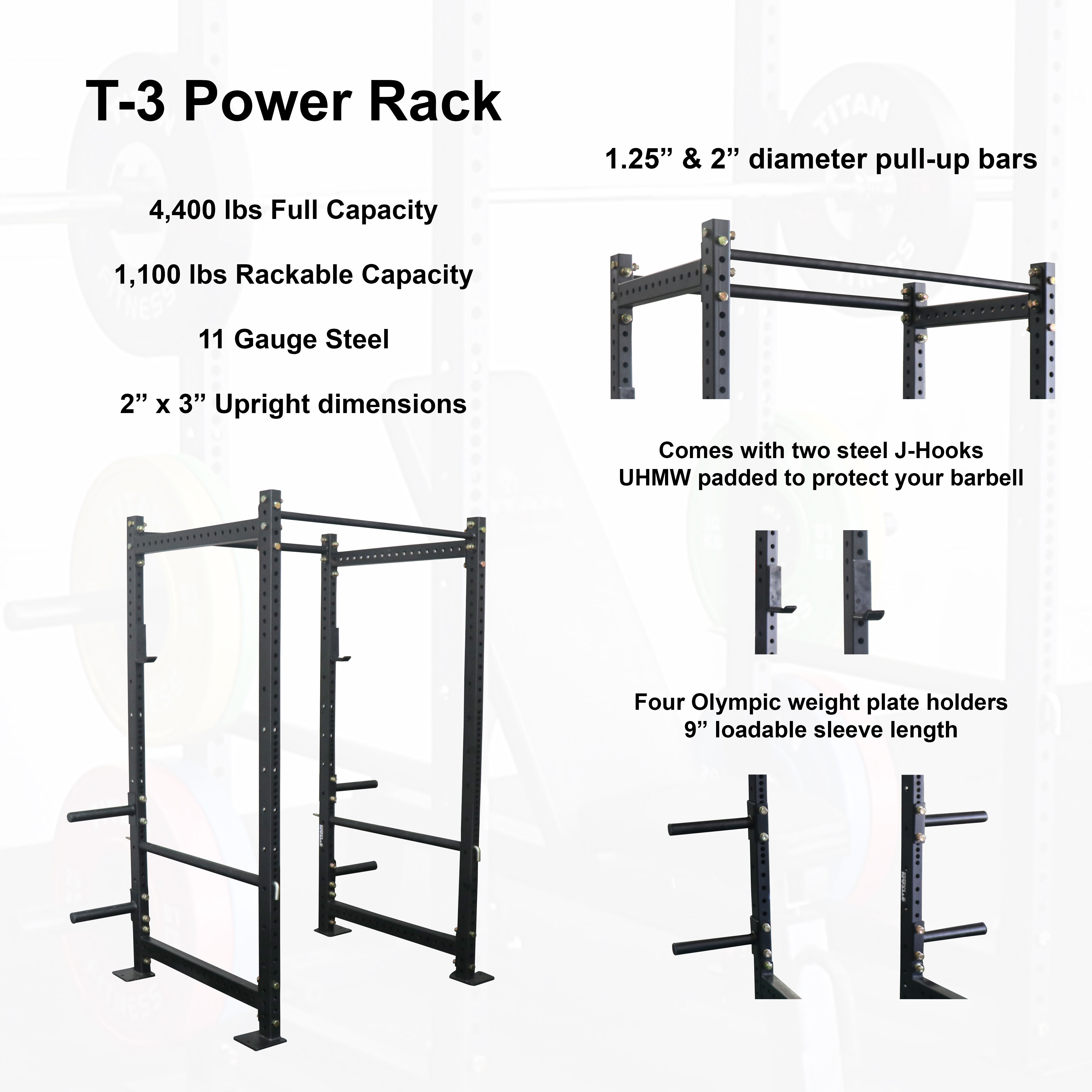 sporting goods 36 extension kit for t 3 short power rack fitness running yoga
