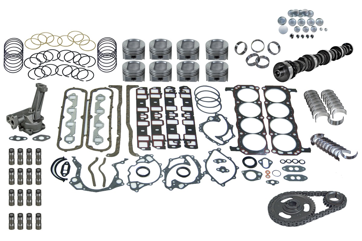 Ford Fits 351 W 5 8 77 83 Truck Engine Master Kit F150