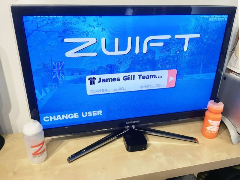 TitaniumGeek IMG_0477-1024x768 Zwift Apple TV - Zwift Completes iOS rollout - ZwiftGearTest ZwiftGearTest Zwift iOS Zwift ios games cycling