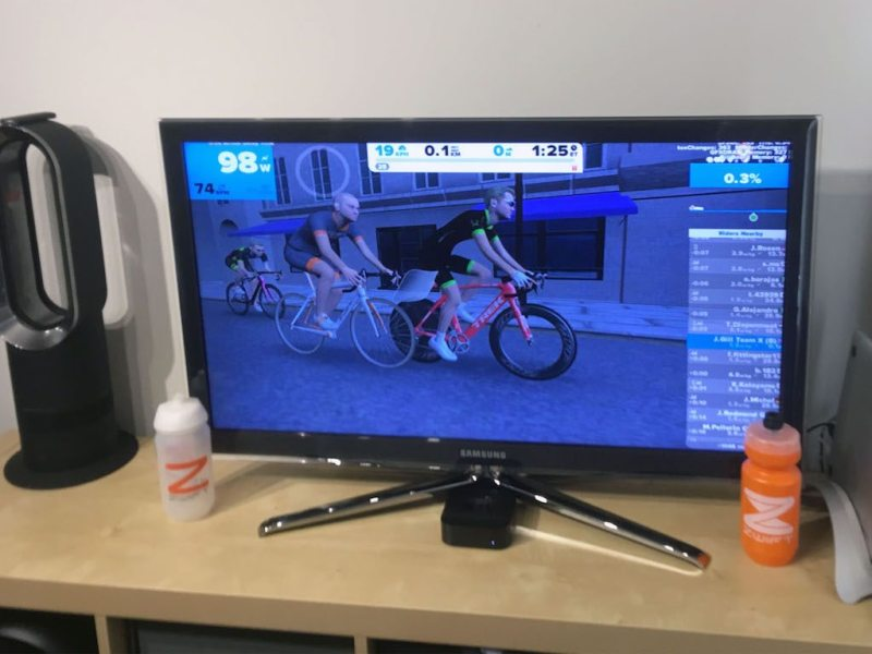 TitaniumGeek IMG_3788-1024x768 Zwift Apple TV - Zwift Completes iOS rollout - ZwiftGearTest ZwiftGearTest Zwift iOS Zwift ios games cycling