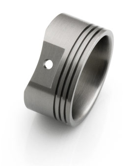 Custom Titanium Rings Amp Wedding Bands